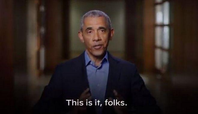 """Το μήνυμα στήριξης του Ομπάμα σε Μπάιντεν και Χάρις - """"Σήμερα αποφασίζουμε ποιοι πραγματικά είμαστε"""""""