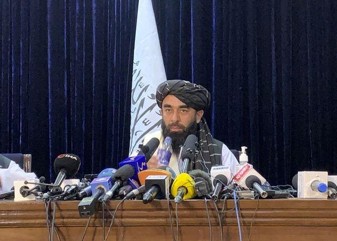 Ο εκπρόσωπος Τύπου των Ταλιμπάν, Zabihullah Mujahid