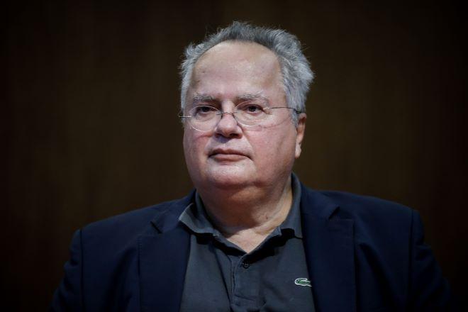 Ο πρώην ΥΠΕΞ, Νίκος Κοτζιάς.