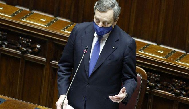 Ο πρωθυπουργός της Ιταλίας, Μάριο Ντράγκι