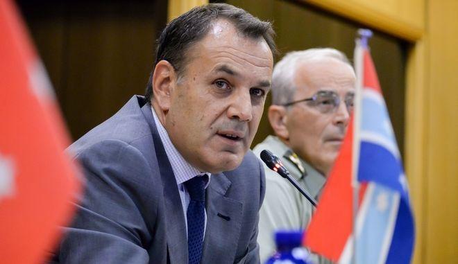 Νικόλαος Παναγιωτόπουλος, Υπουργός Εθνικής Άμυνας