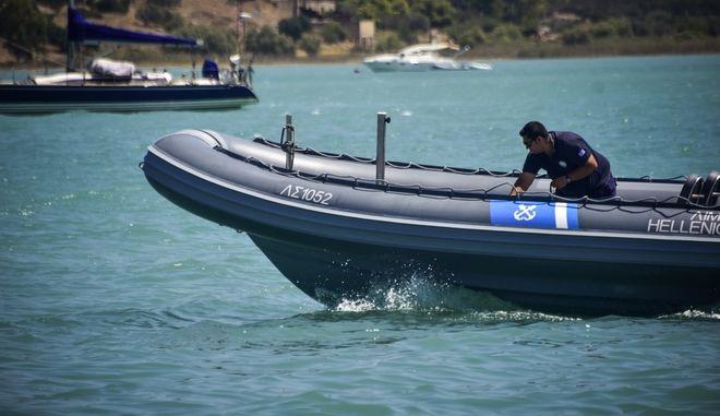 Σύγκρουση ταχύπλοου με αλιευτικό σκάφος αργά χθές το βράδυ στην περιοχή θυνί στο Πόρτο Χέλι Αργολίδας.Δυο νεκροί από την βύθιση του αλιευτικού και μια γυναίκα σοβαρά τραυματισμένη, Σάββατο 10 Αυγούστου 2019 (EUROKINISSI/ΒΑΣΙΛΗΣ ΠΑΠΑΔΟΠΟΥΛΟΣ)