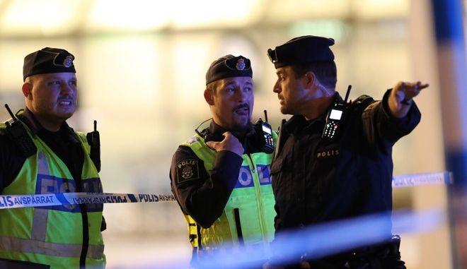 Αστυνομικές δυνάμεις της Σουηδίας