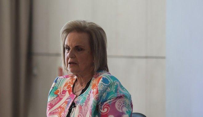Η πρόεδρος των νοσοκομειακών γιατρών Αθήνα - Πειραιά, Ματίνα Παγώνη.