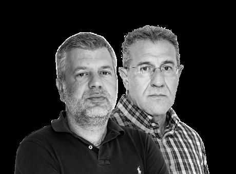 Γιώργος Βούλγαρης, Κωνσταντίνος Σαρρηκώστας