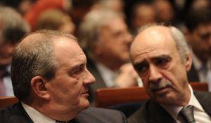 Kώστας Καραμανλής και Βαγγέλης Μεϊμαράκης