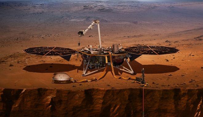 Η NASA στέλνει σεισμογράφο στον Άρη