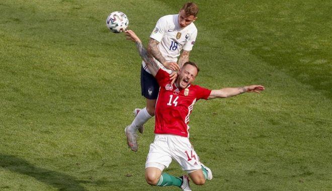 """Ισόπαλες 1-1 Ουγγαρία και Γαλλία. Παραμένει """"ανοιχτός"""" ο όμιλος"""