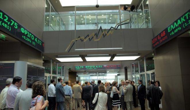 ΑΘΗΝΑ- εισαγωγή των νέων μετοχών της Τράπεζας Πειραιώς στο Χ.Α σήμερα Τετάρτη 3 Ιουλίου 2013.(EUROKINISSI-ΚΩΣΤΑΣ ΚΑΤΩΜΕΡΗΣ)