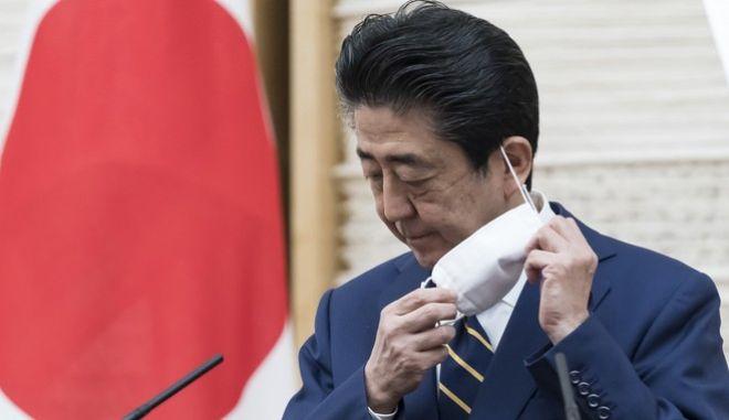 Ο πρωθυπουργός της Ιαπωνίας, Σίνζο Άμπε