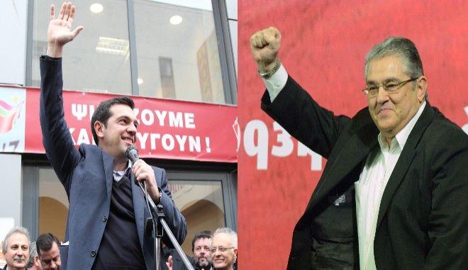 Την μάχη της πλατείας δίνουν ΣΥΡΙΖΑ και ΚΚΕ
