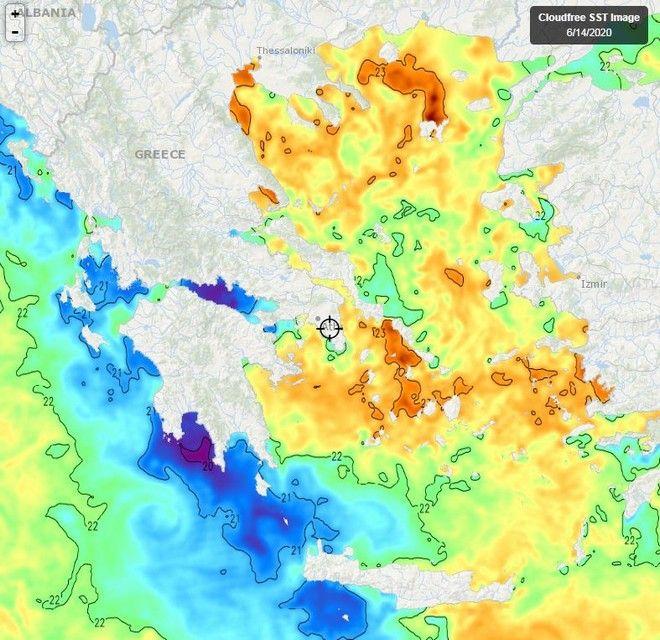 Πιο ζεστές οιθάλασσες, ειδικά στο Αιγαίο - Η πρόγνωση για τις επόμενες μέρες