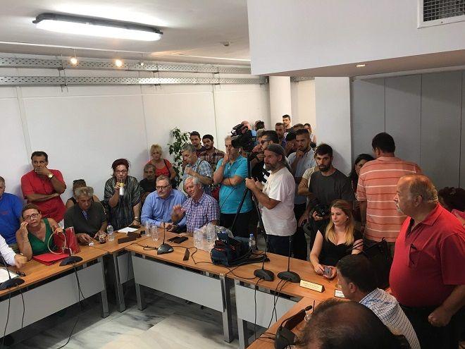 Δημοτικό Συμβούλιο Δήμου Μαραθώνα χωρίς τον Ηλεία Ψινάκη
