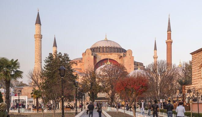 Η Αγιά Σοφία στην Κωνσταντινούπολη