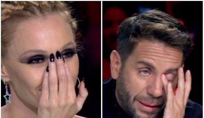 X-Factor: Δάκρυσαν Μαζωνάκης και Τάμτα όταν αποχώρησε το τσιγγανάκι
