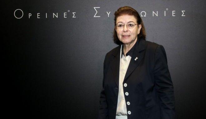 Υπουργός Πολιτισμού Λίνα Μενδώνη