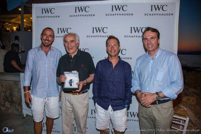 Η IWC Schaffhausen 'άνοιξε πανιά' και φέτος για το Spetses Classic Yacht Regatta 2017