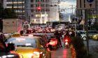 Στιγμιότυπα κυκλοφορικού χάους στο κέντρο της Αθήνας λόγω lockdown ,Παρασκευή 6 Νοεμβρίου 2020
