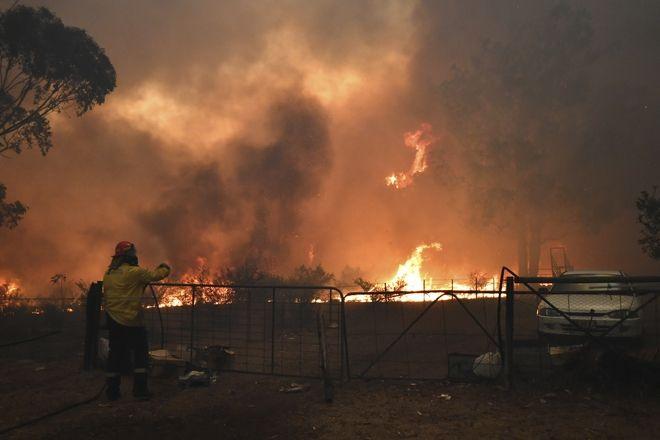 Πυρκαγιές καίνε την Αυστραλία.