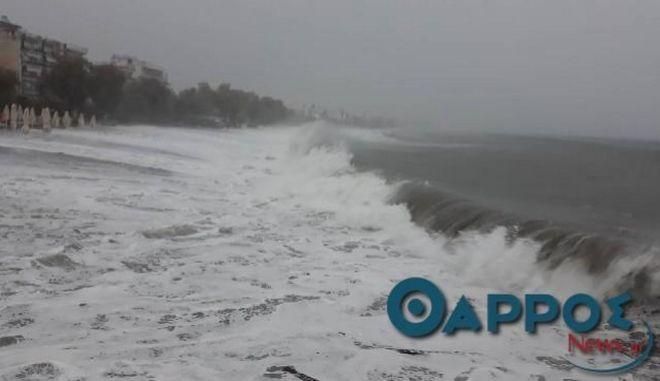 Ο μεσογειακός κυκλώνας Ζορμπάς έφτασε στη Μεσσηνία