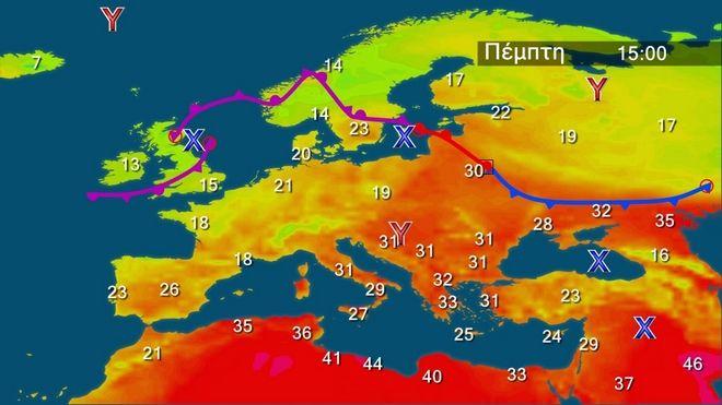 Καιρός Περιορίζεται η αστάθεια - Ανεβαίνει η θερμοκρασία την Πέμπτη