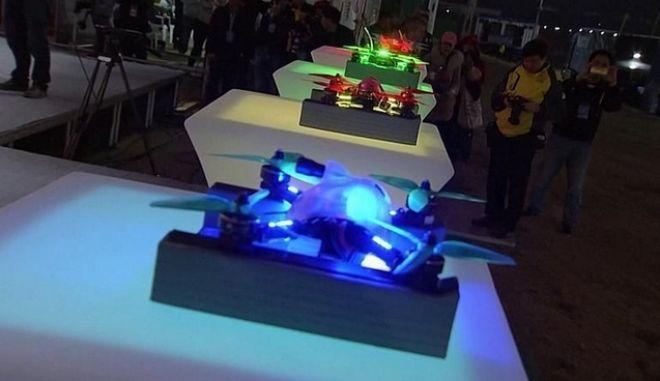 Ολοκληρώθηκε το Παγκόσμιο πρωτάθλημα ταχύτητας με drones