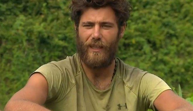 Ο Νίκος Μπάρτζης στο Survivor 4