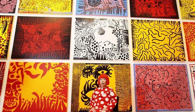Η Ιαπωνέζα αβανγκάρτ καλλιτέχνης Γιαγιόι Κουσάμα