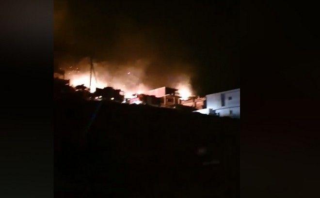 Φωτιά στο Πόρτο Ράφτη Ολονύχτια μάχη με τις φλόγες - Απομακρύνθηκαν κάτοικοι