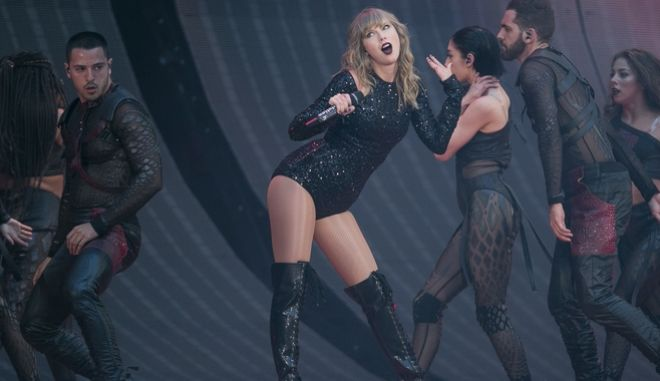 Δύο συναυλίες έδωσε η Taylor Swift στις οποίες παρευρέθηκαν εκλεκτοί θεατές