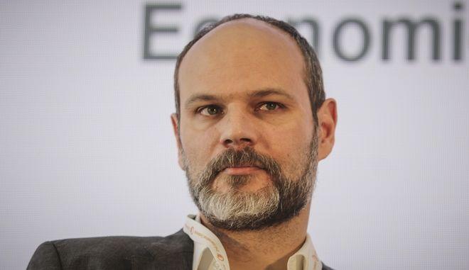 Ο Συντονιστής του Γραφείου Προϋπολογισμού του Κράτους στη Βουλή Φραγκίσκος Κουτεντάκης