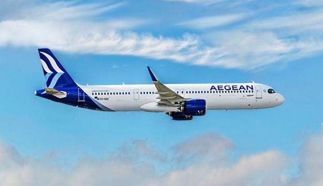 Αεροσκάφος της AEGEAN