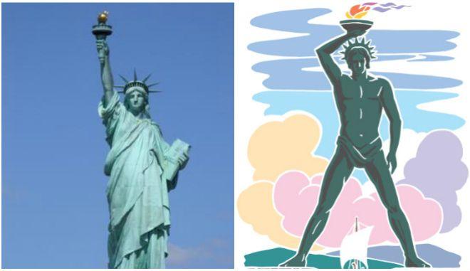 Μηχανή του χρόνου: Τι σχέση έχει το άγαλμα της Ελευθερίας με τον Κολοσσό της Ρόδου