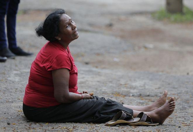 Συγγενής θυμάτων στη Σρι Λάνκα