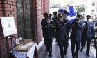 Κηδεία του σμηναγού Γιώργου Μπαλταδώρου