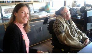 Τζένη Λειβαδάρου: Ο Χόκινγκ, όπως τον γνώρισα
