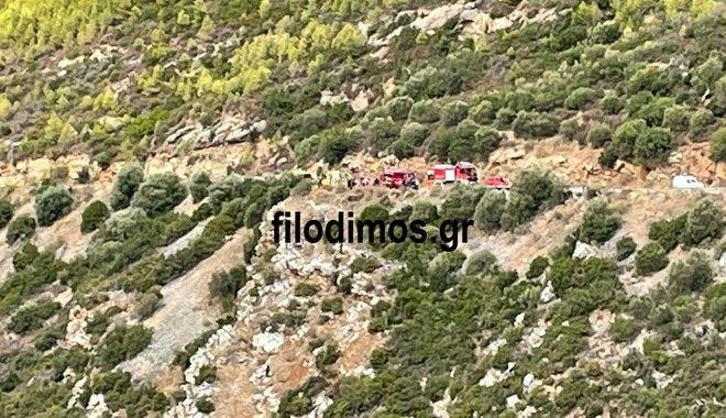 Αίγιο: Αυτοκίνητο έπεσε σε γκρεμό - Νεκρός ο οδηγός