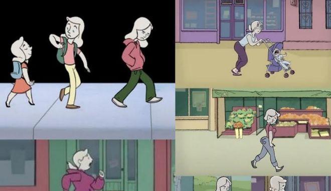 """""""Το υπέροχο γυναικείο σώμα"""": Ενα τρυφερό animation με το οποίο θα ταυτιστεί κάθε γυναίκα"""