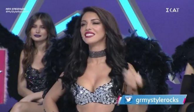 My Style Rocks: Φωτιά στο Gala με τη σέξι εμφάνιση της Εύας Μπάση