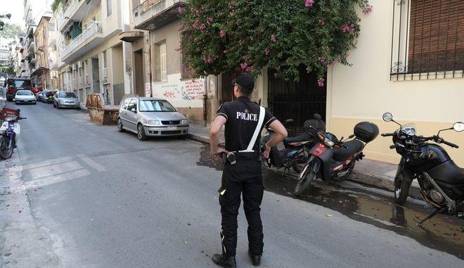 Η Αστυνομία στα Εξάρχεια