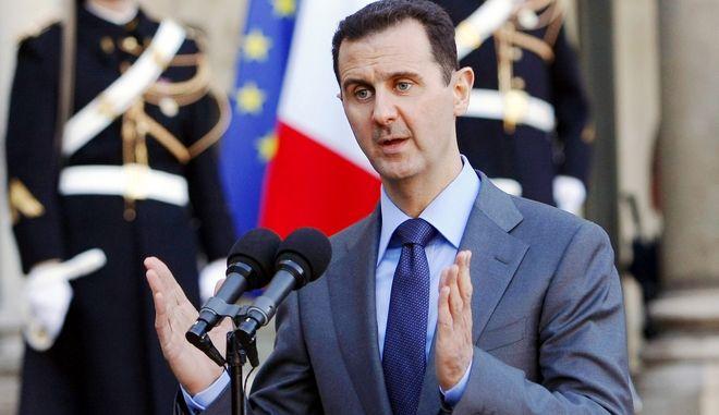 Ο Πρόεδρος της Συρίας, Μπασάρ αλ Άσαντ