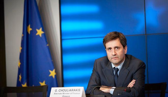 Ο αναπληρωτής υπουργός Οικονομικών κ. Γιώργος Χουλιαράκης για τα αποτελέσματα του Eurogroup.
