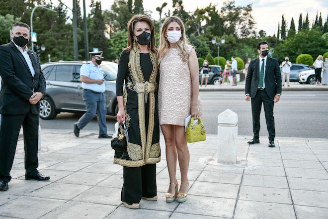 Στιγμιότυπα πριν από την επίδειξη μόδας του Dior στο Παναθηναϊκό Στάδιο, 17 Ιουνίου 2021