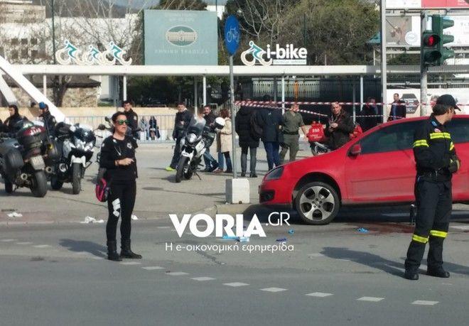 Τροχαίο δυστύχημα στην Θεσσαλονίκη με θύμα μια γυναίκα