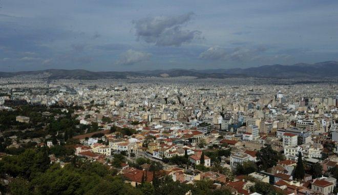 Εικόνα της Αθήνας από ψηλά