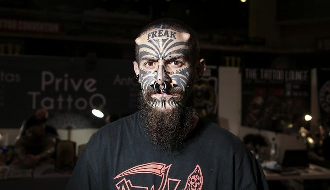 12th Athens International Tattoo Convention 2018 in Athens, on May 11, 2018