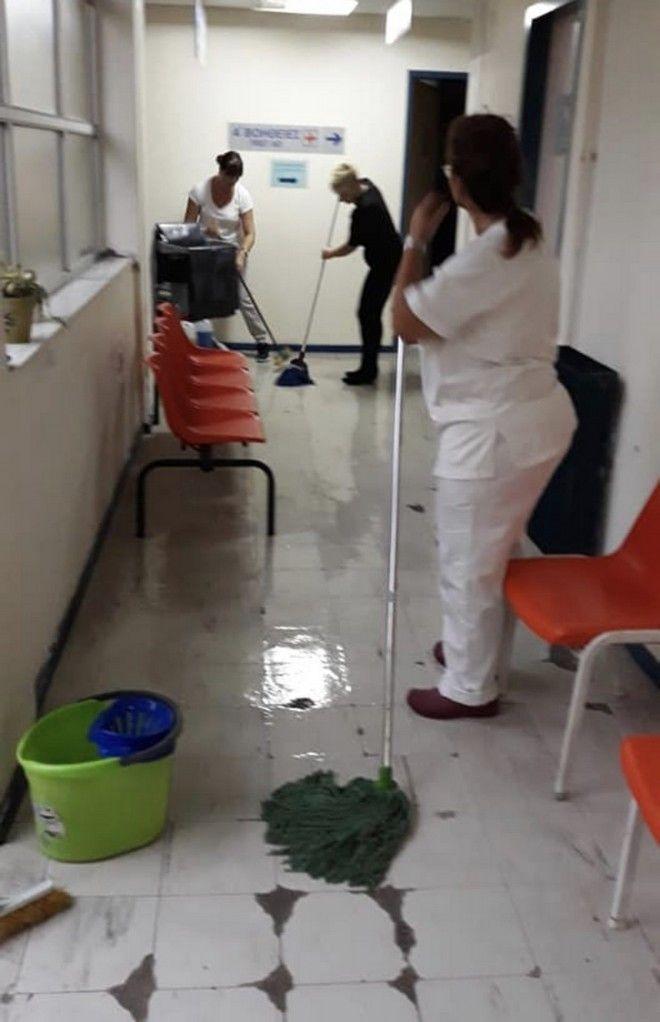 Κέρκυρα: Προβλήματα στην ακτοπλοΐα λόγω κακοκαιρίας - Πλημμύρισε το Κέντρο Υγείας Αγίου Μάρκου