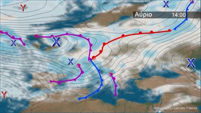 Επιδείνωση του καιρού από το απόγευμα της Κυριακής και από τα δυτικά