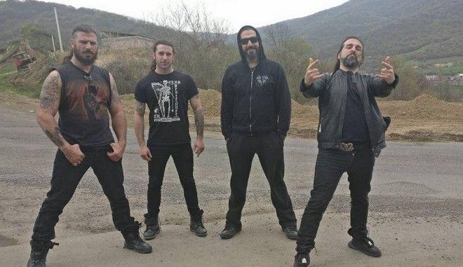 Το extreme metal συγκρότημα σε φωτογραφία τον Απρίλιο