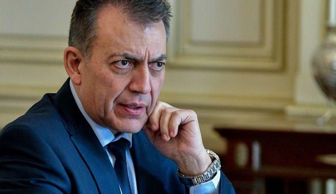 Ο υπουργός Εργασίας και Κοινωνικών Υποθέσεων Γιάννης Βρούτσης (EUROKINISSI/ΤΑΤΙΑΝΑ ΜΠΟΛΑΡΗ)